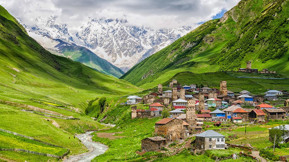 Svaneti—A Region of Georgia