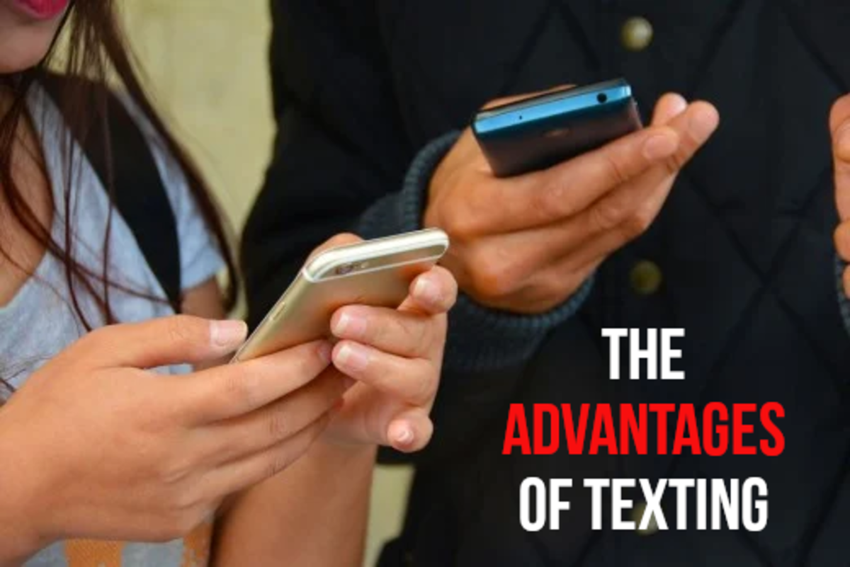 Read on to find out about the benefits of texting...