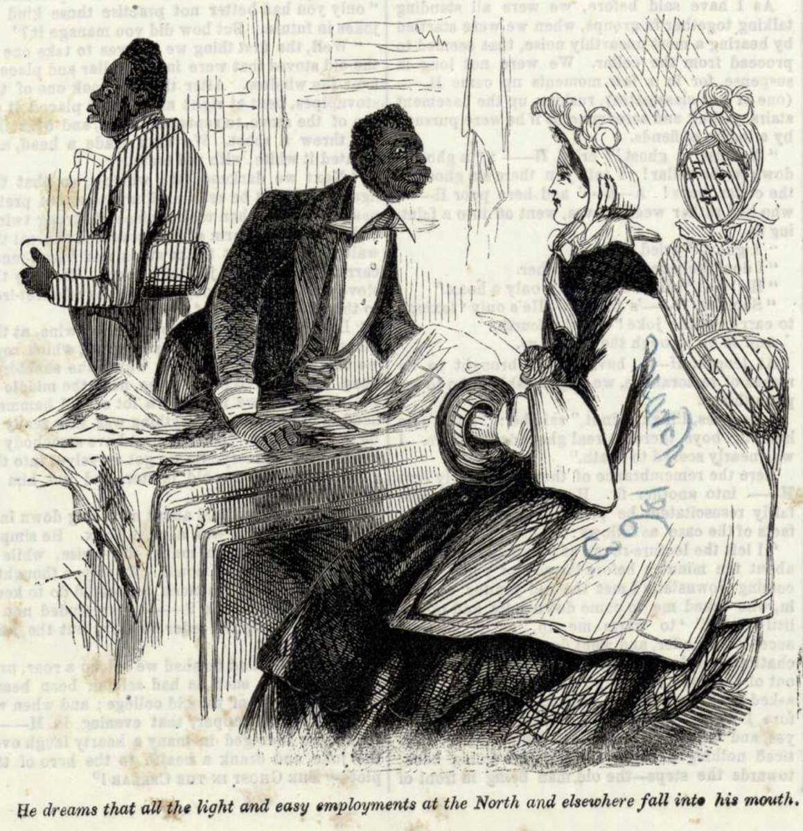 Stereotyping African Americans Through Caricatures