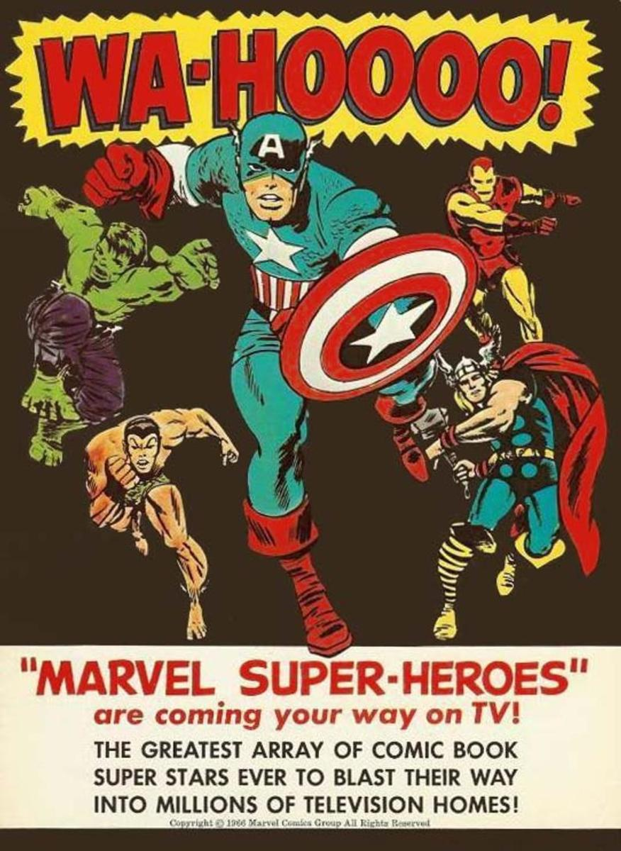 The Marvel Super Heroes: Avengers First Assemblage in Animation