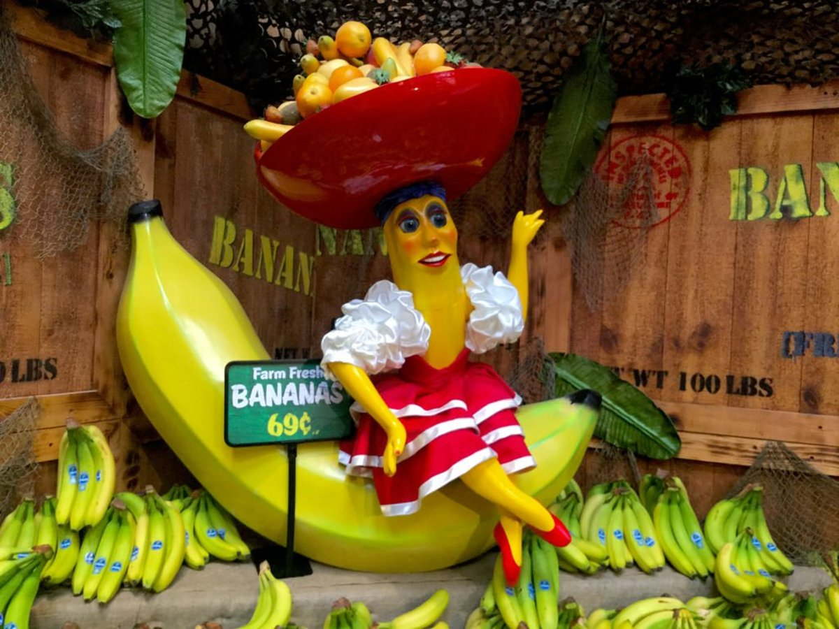 The term Banana Republic is applied to a handful of Central American countries, where the major export crop are bananas.