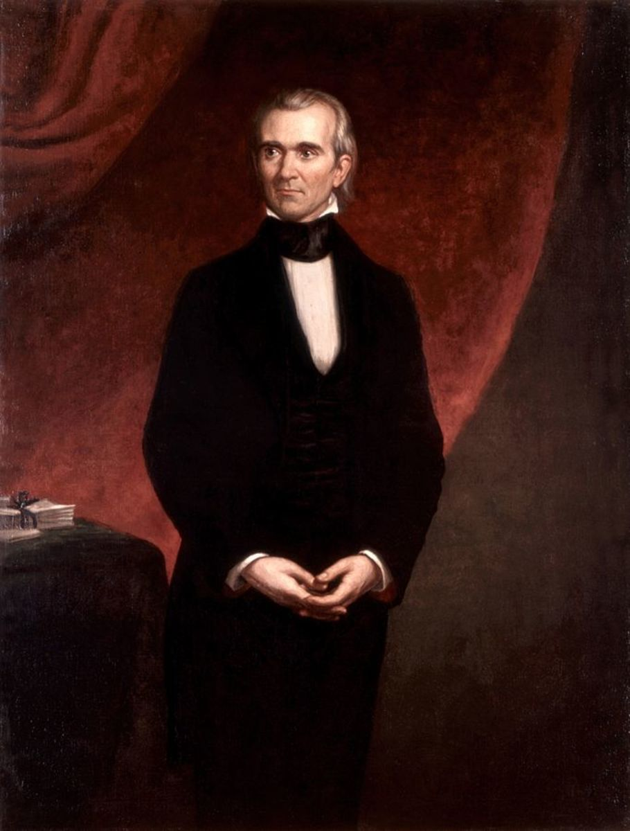 President James K. Polk and Fulfillment of Manifest Destiny