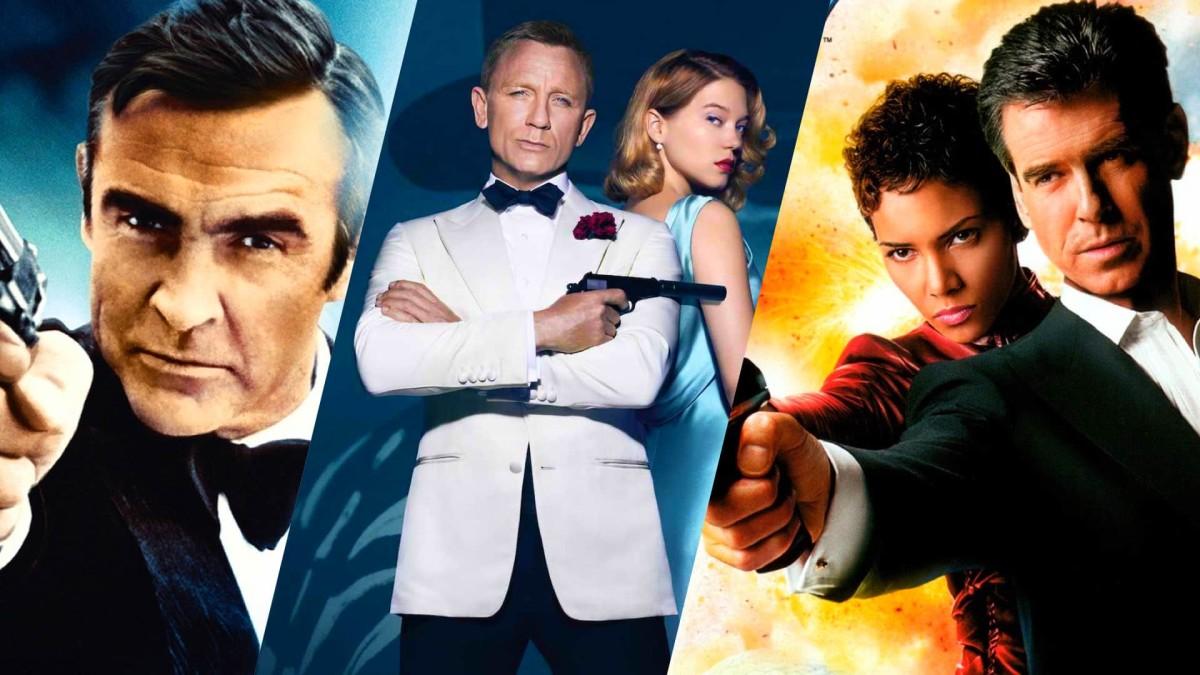 James Bond Filme Chronologisch