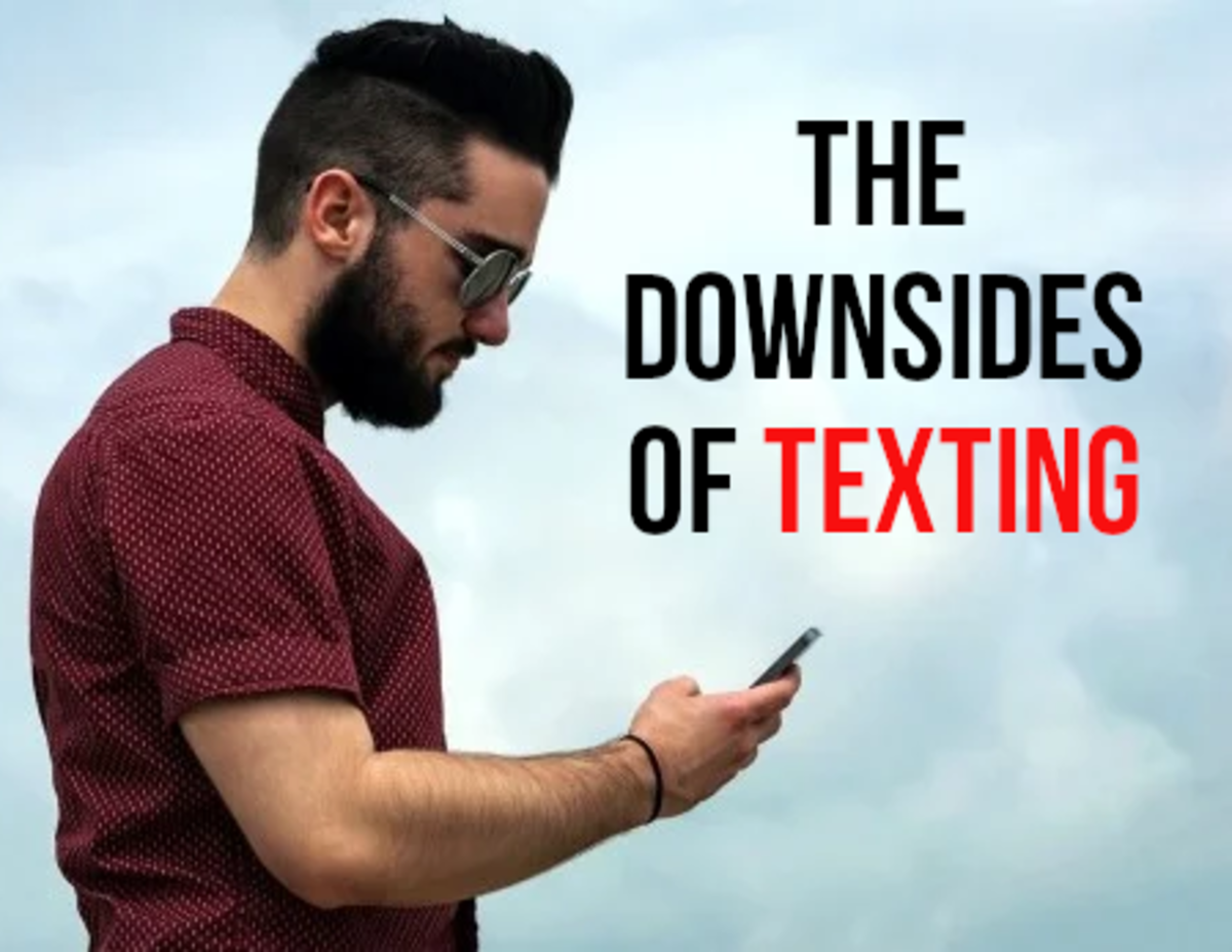 Texting continues to be a very popular form of communication, read on to find out about the negatives...