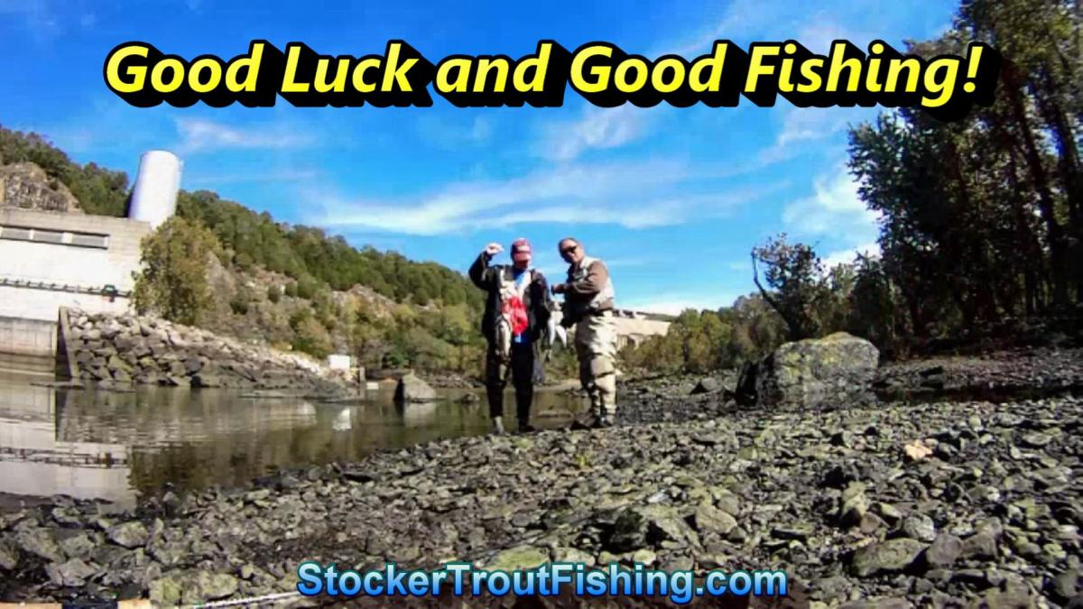 Lower Illinois River Trout Fishing
