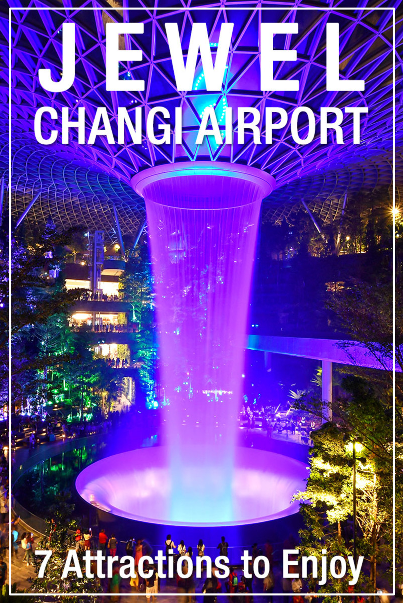 Jewel Changi Airport is the latest glittering addition to Singapore's multi-award-winning airport.