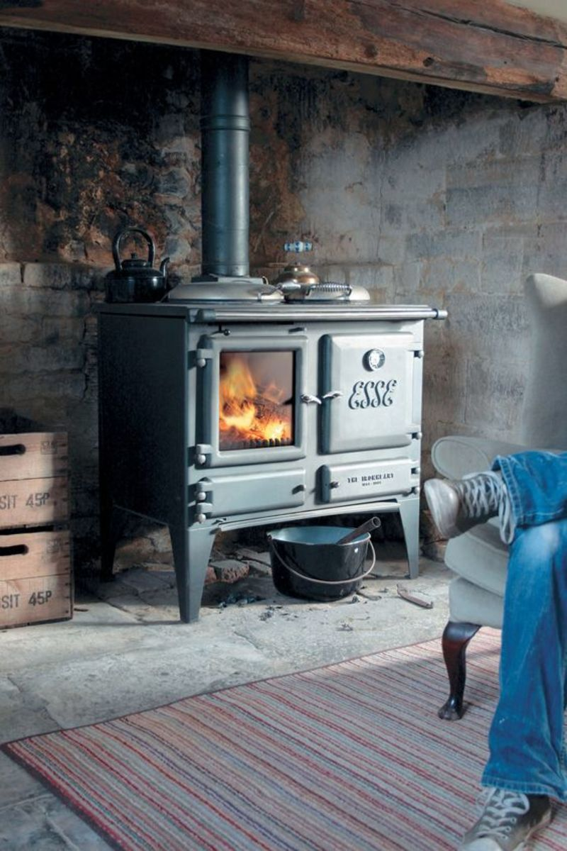 The wood stove is a vital part of our American heritage.