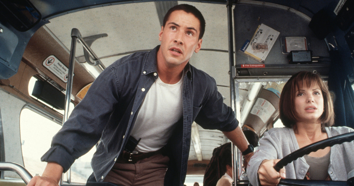 25 Reasons Why 'Speed 3' Starring Keanu Reeves and Sandra Bullock Needs to Happen
