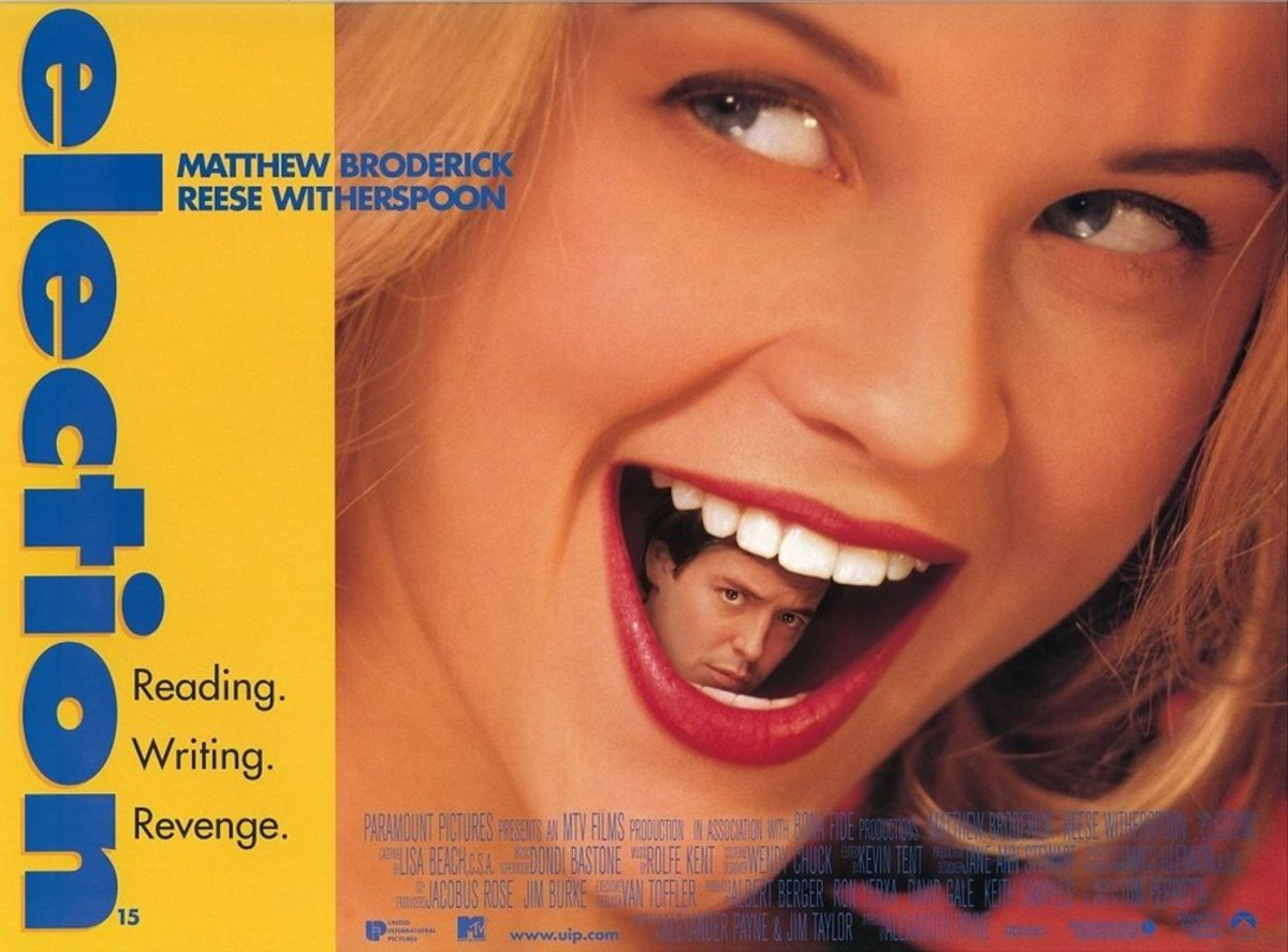 Movie Posters 1999: 5 Reasons Why 'Election' Is The Best High School Comedy Of