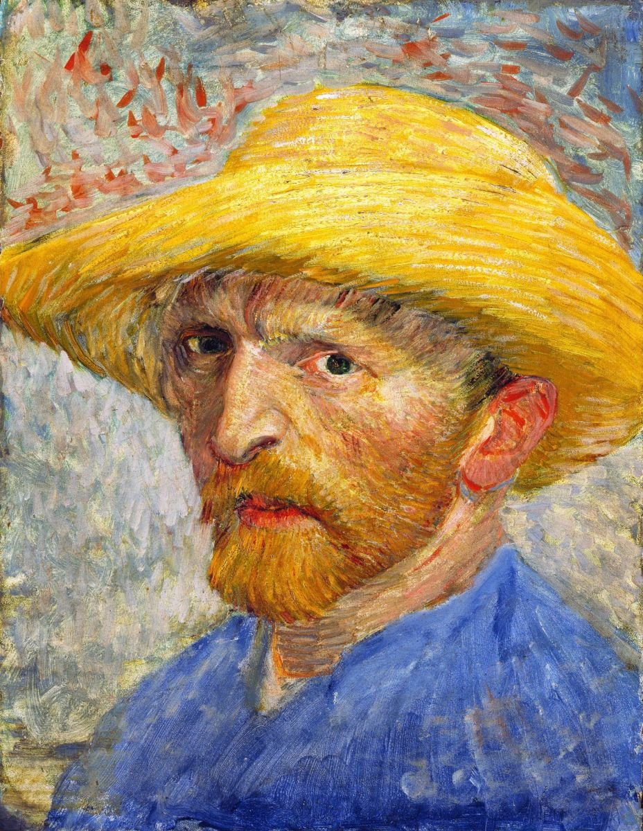 Self-portrait, Paris 1887.