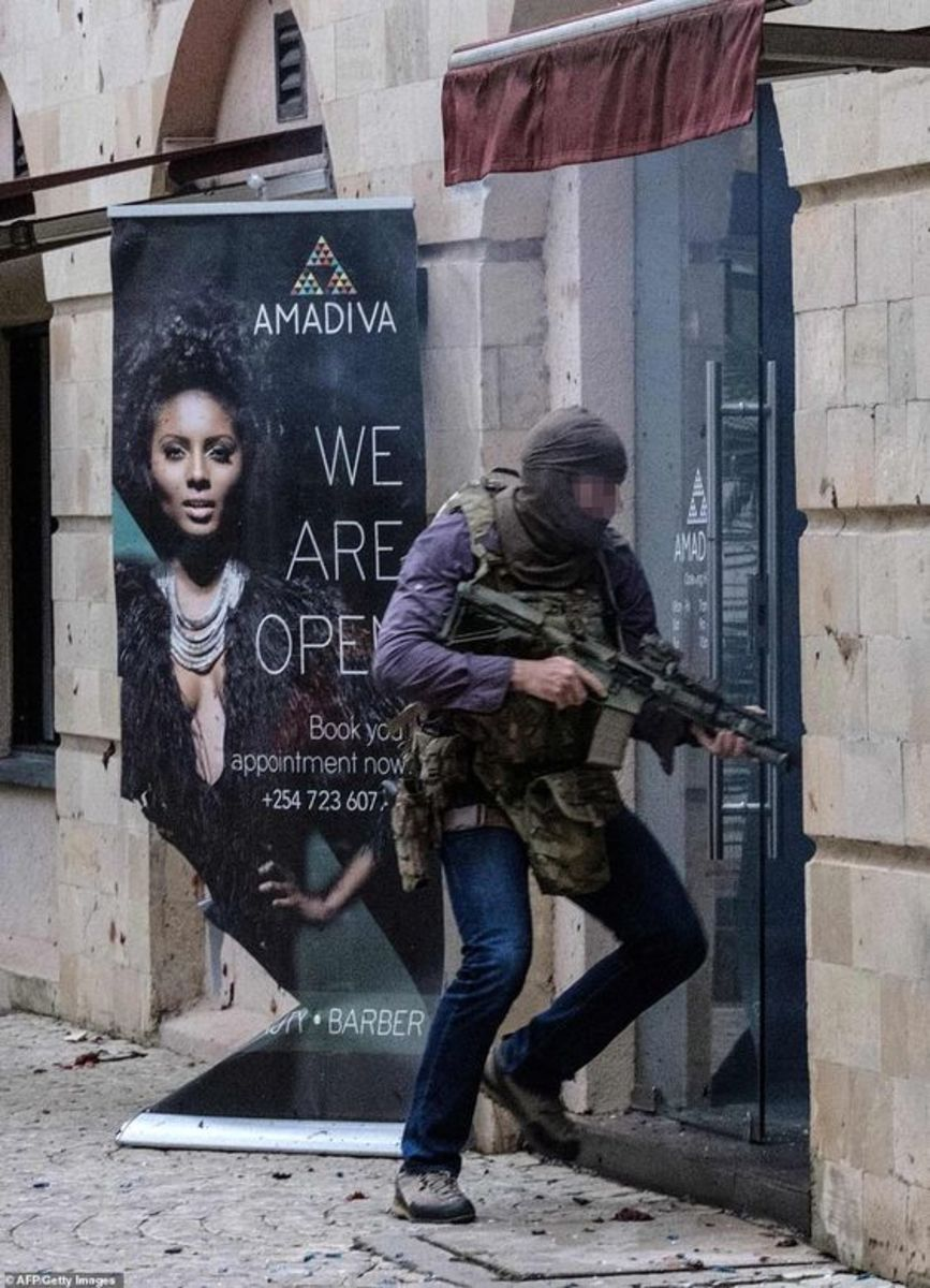 This guy took out a Hotel full of Terrorists in Nairobi ON HIS OWN!! and Yes, he was SAS