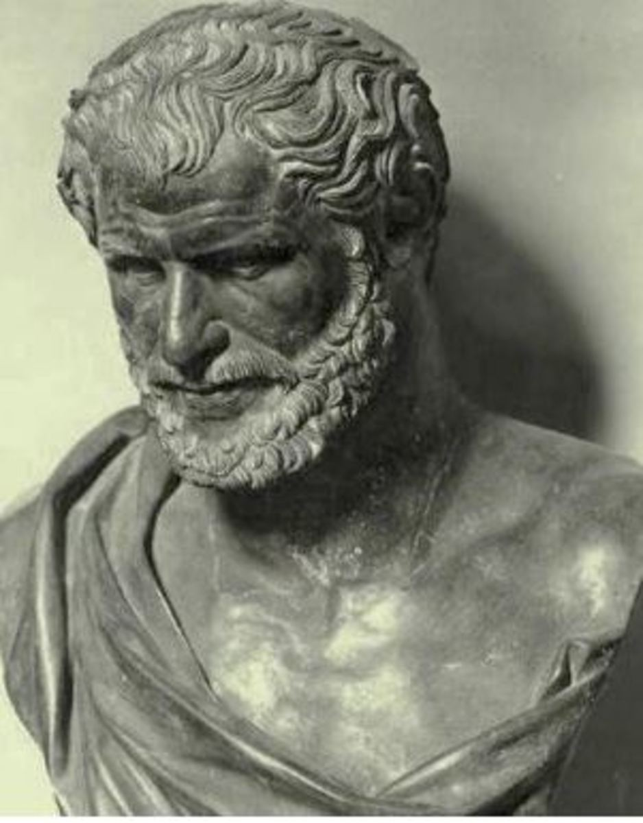 'Nothing exists but atoms and empty space.'             Democritus (460-370 BC)
