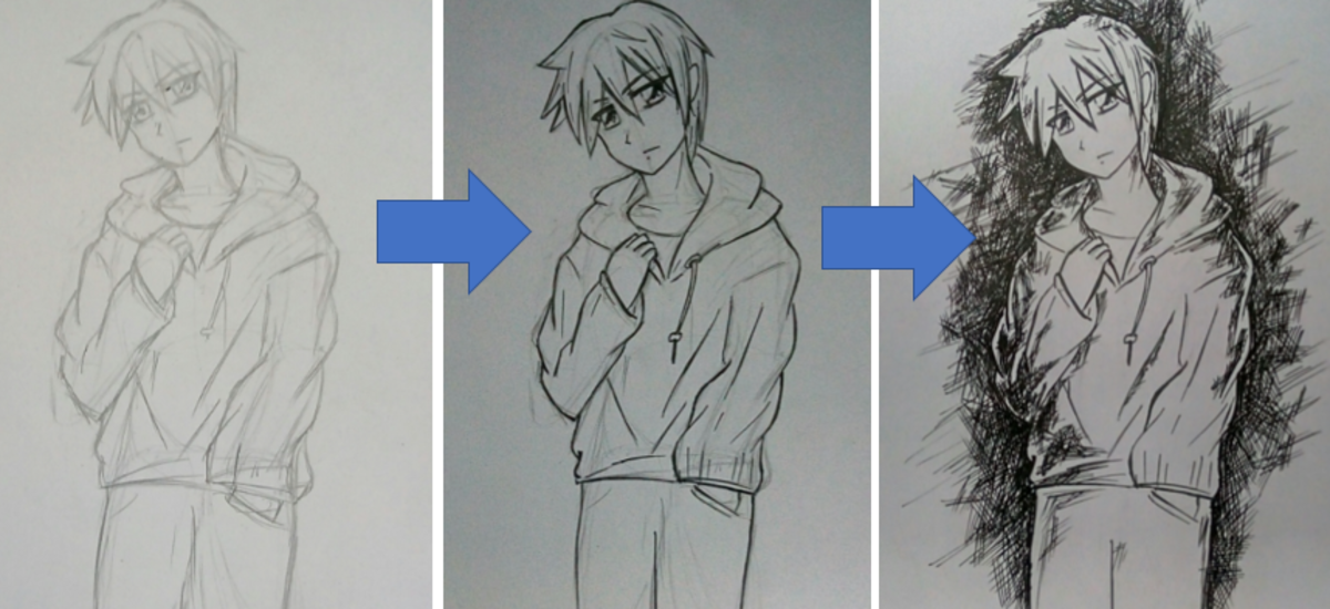 How to Draw an Anime Boy (Shounen)