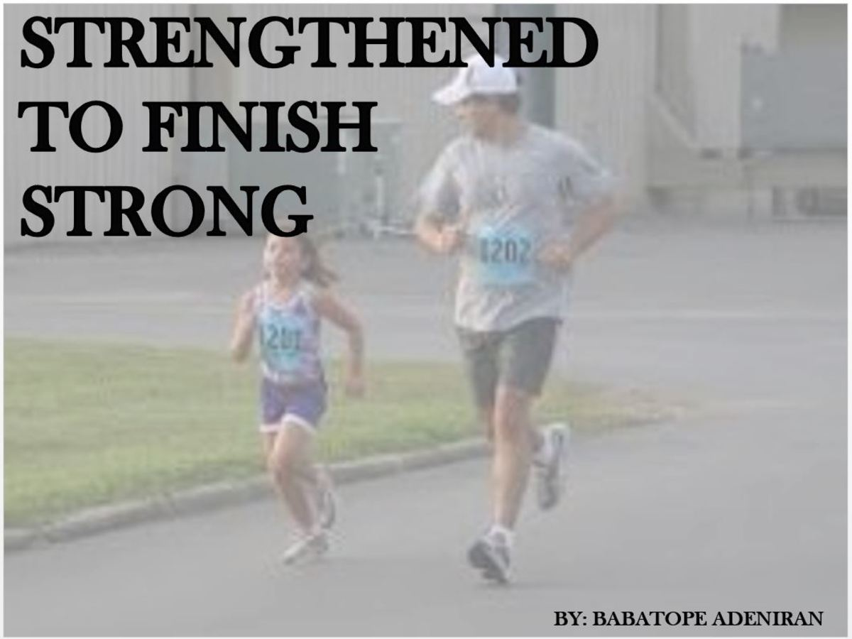 Strengthened to Finish Strong