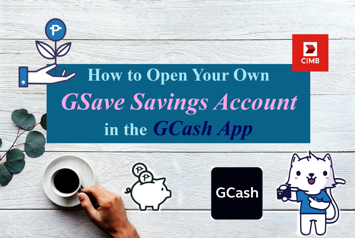 How to Open Your Own GSave Savings Account in the GCash App
