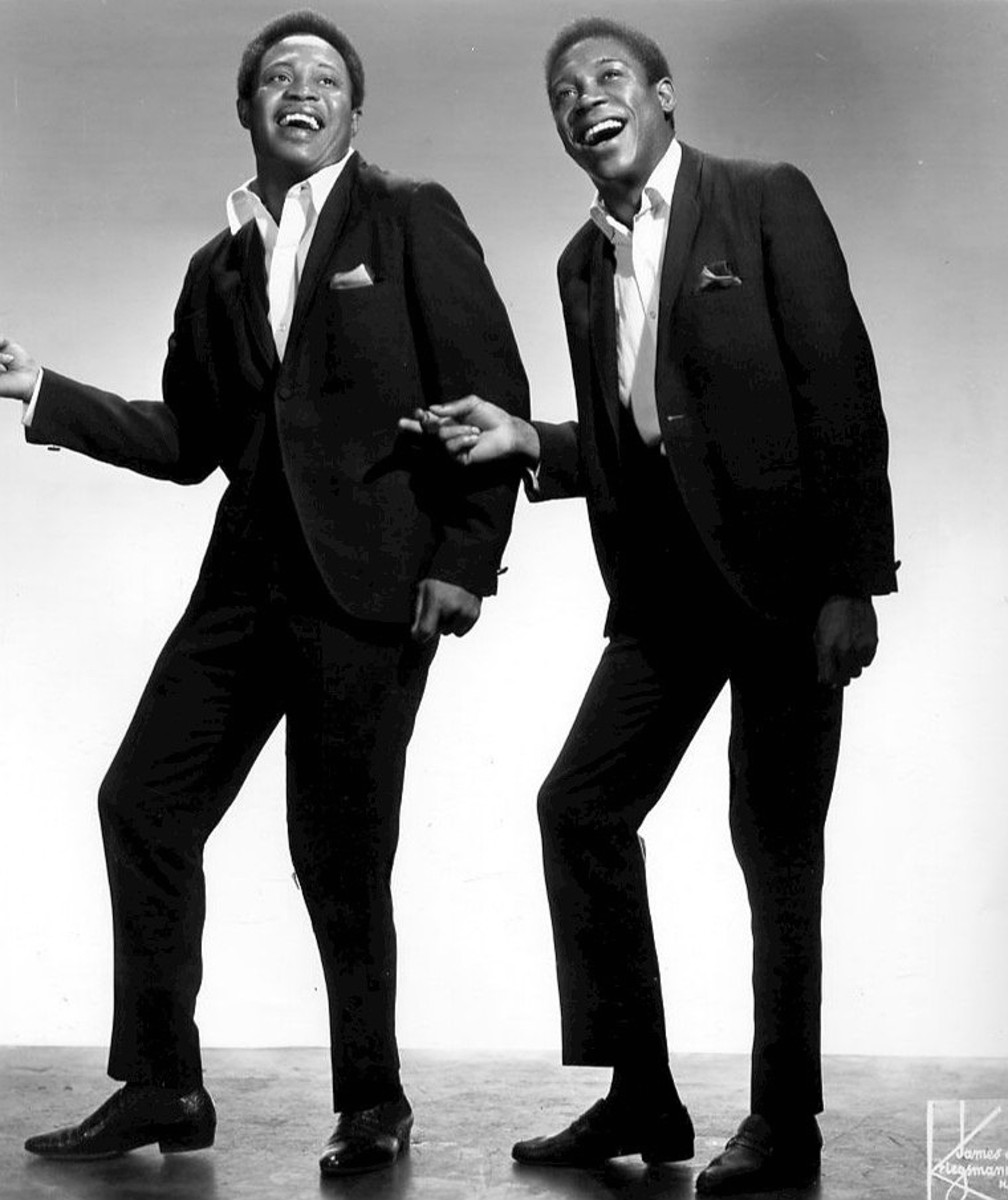 Sam & Dave in an ad from Billboard Magazine, October 26, 1968