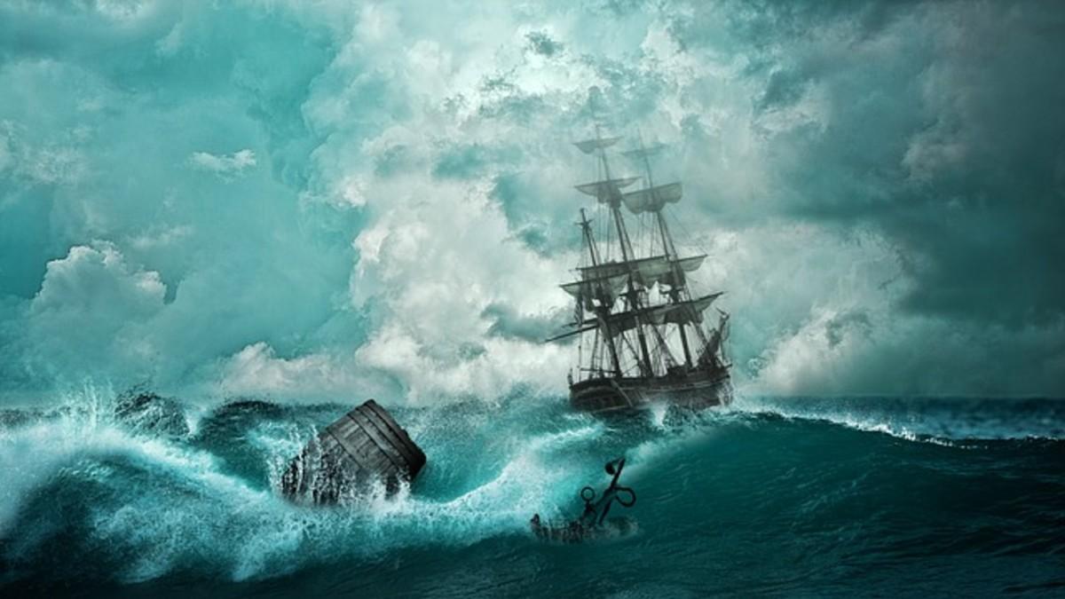 Rebecca Lee Shipwreck