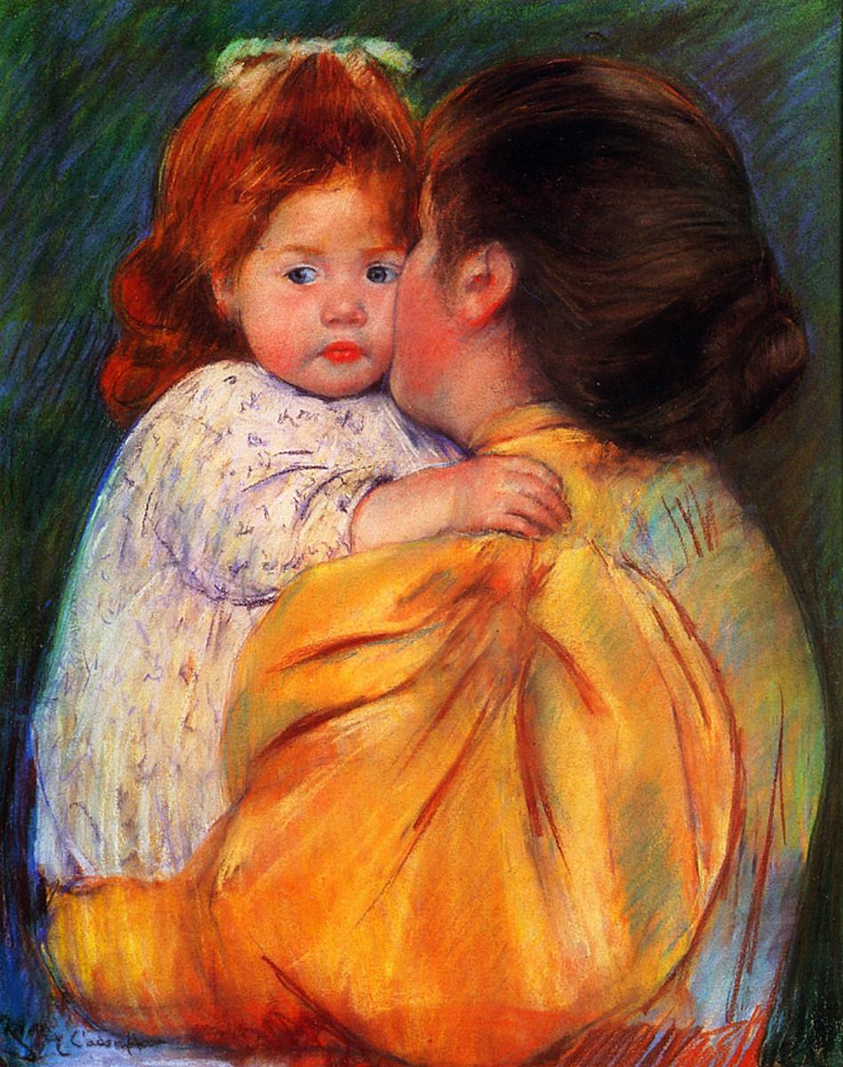 Maternal Kiss