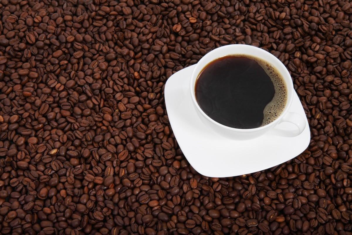 My black coffee