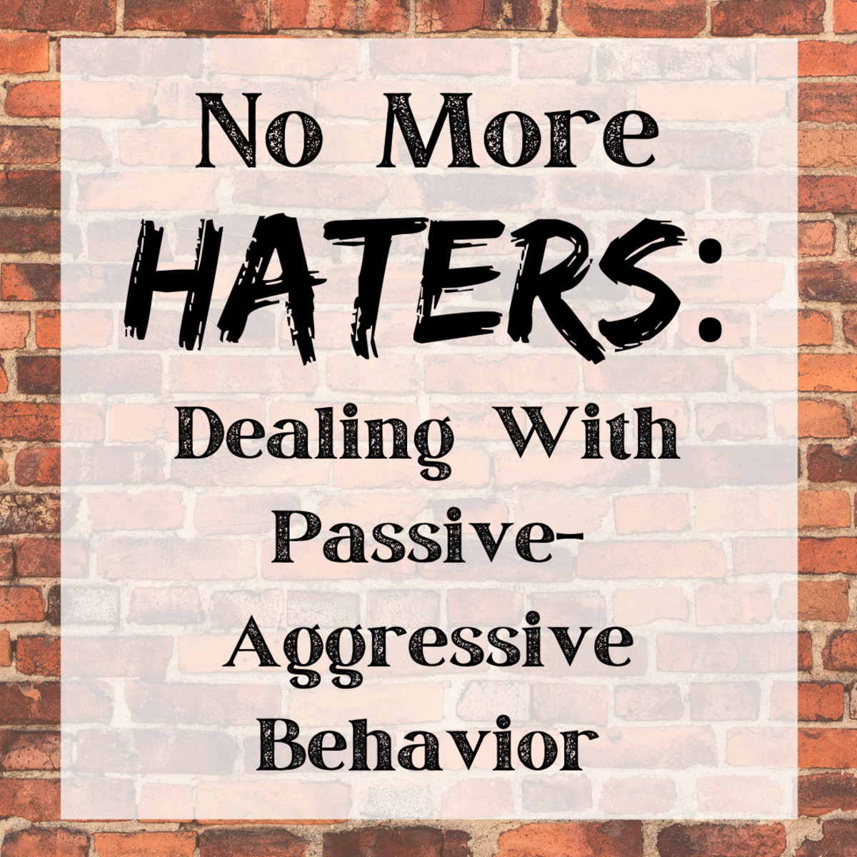 Discover how to deal with passive aggression in the workplace or anywhere else in your life.