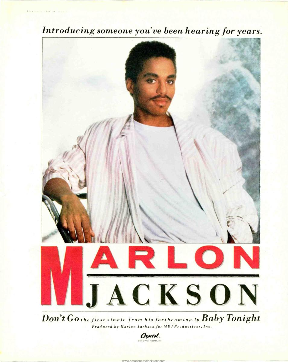 "The ""Mystery"" Jackson: Marlon Jackson's Solo Quest in the '80s"
