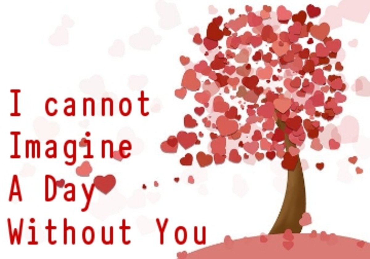 Poem:  I Cannot Imagine a Day Without You