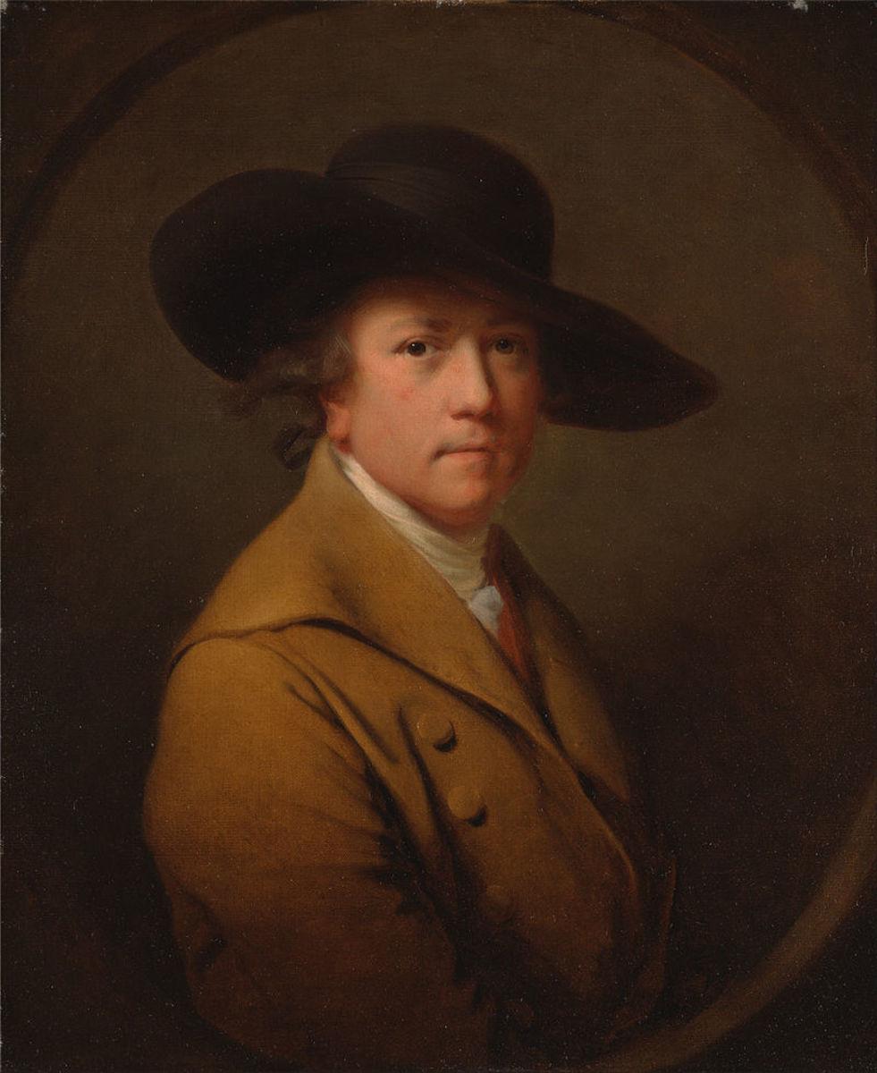 Joseph Wright of Derby (self-portrait)