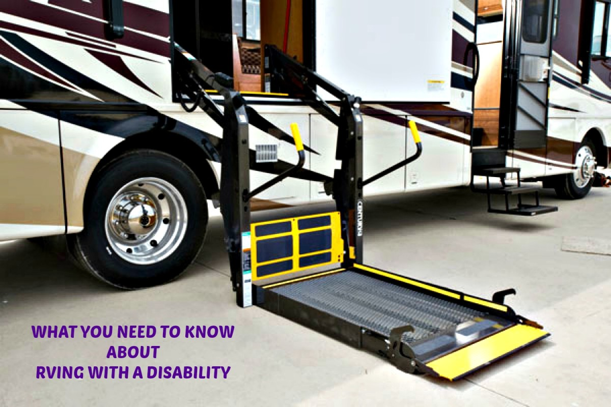 There are many accessories available for RVers with disabilities.