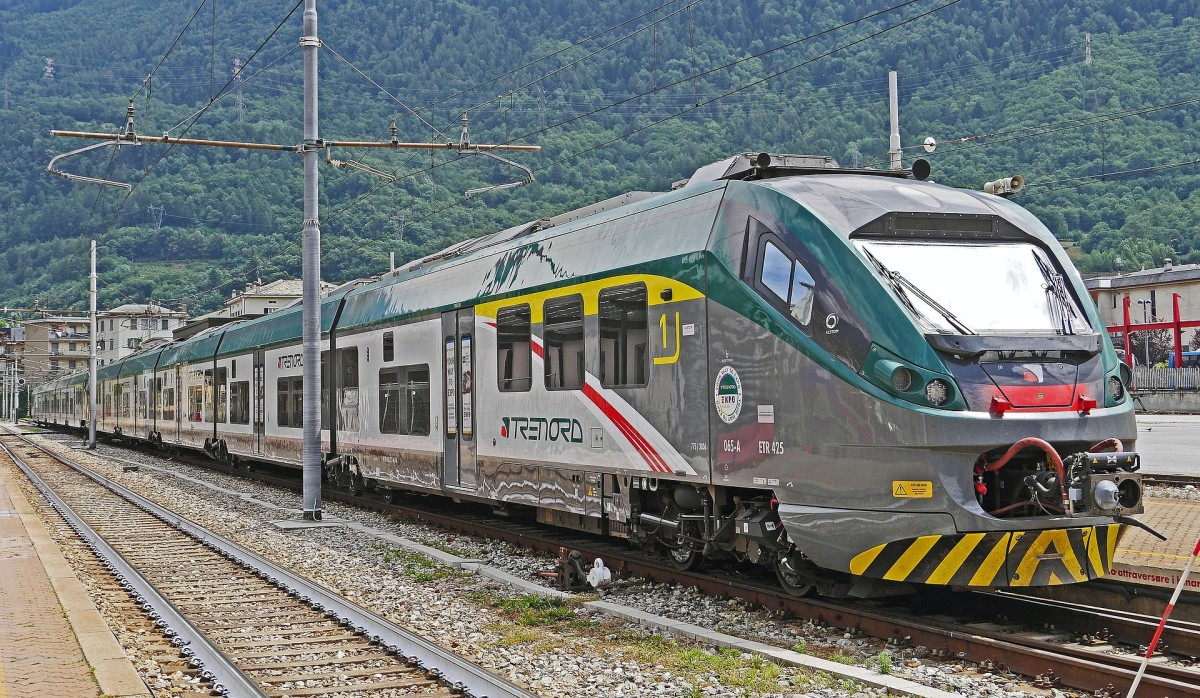 Travelling through Italy by train can be a great way to see the country.