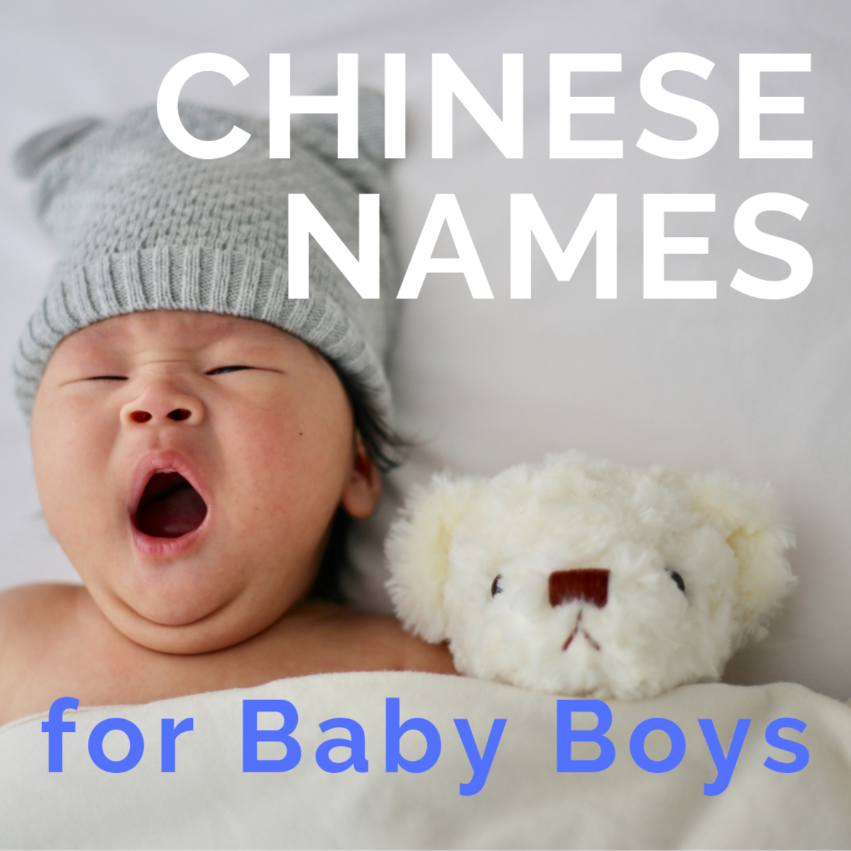 Chinese Names for Baby Boys