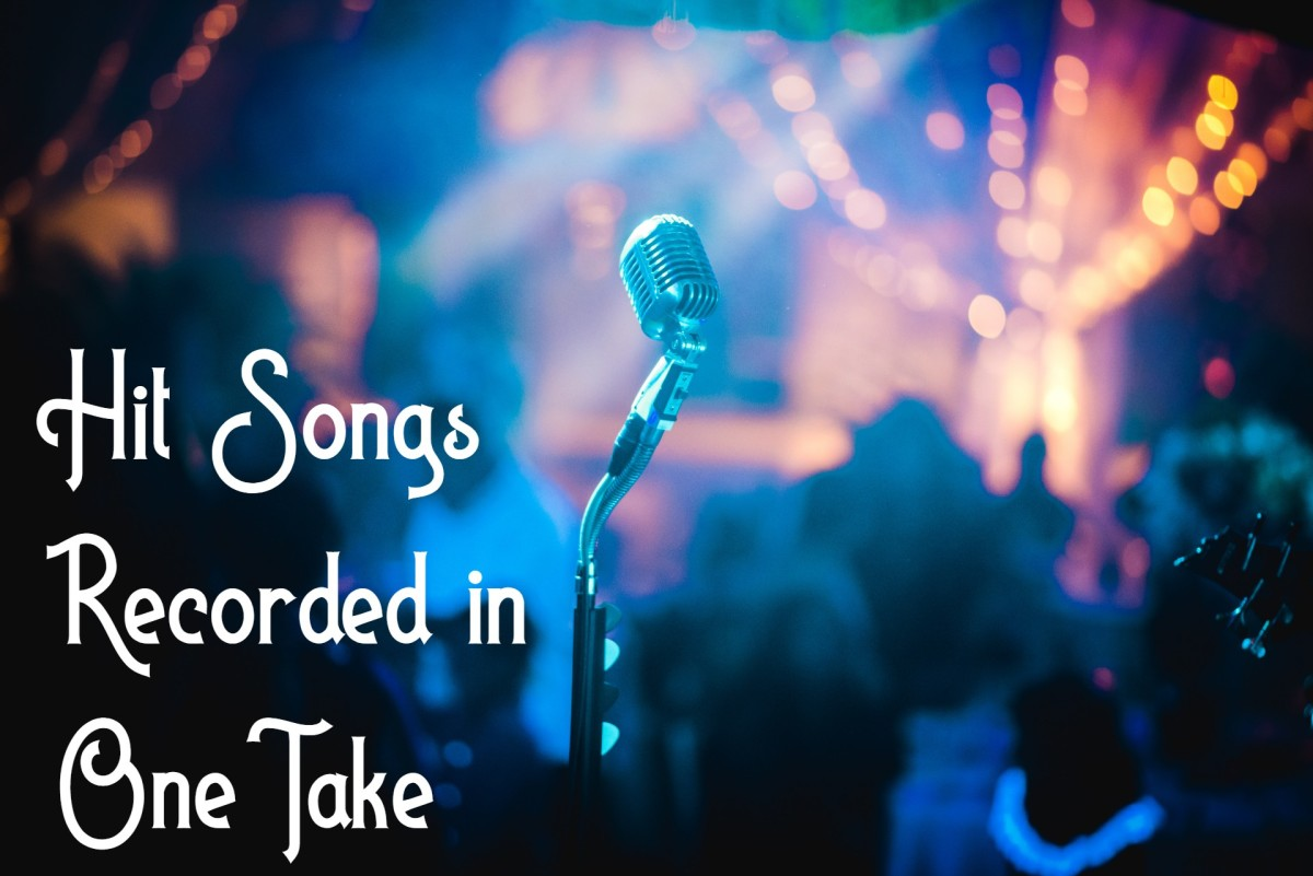 Sometimes when recording a song, a singer nails it on the first take. Here are one-take pop, rock, and country songs that became hits.
