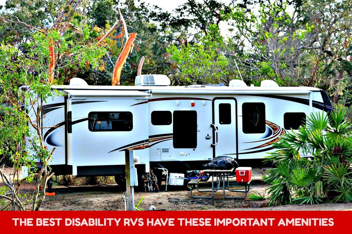 A good disability RV is fully equipped for use by  wheelchair bound travelers.