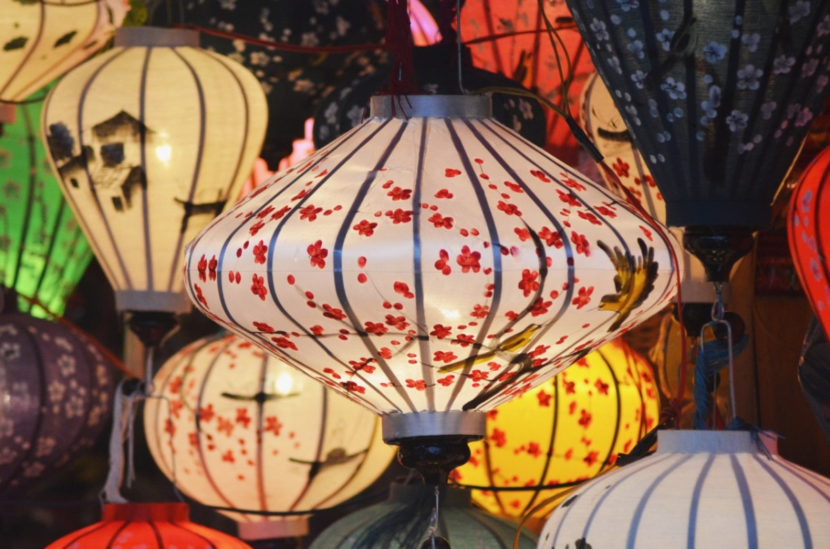 Lanterns in Hoi An (c) A. Harrison