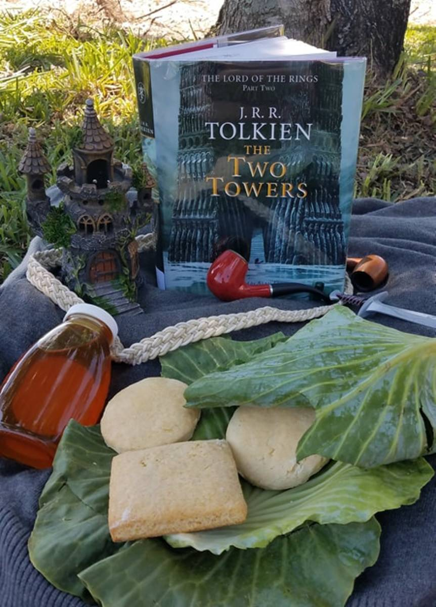 """""""The Two Towers"""" Book Discussion and Honey Biscuit """"Lembas"""" Recipe"""