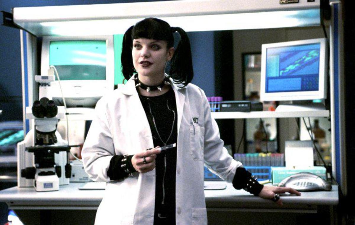 Abby Sciuto from NCIS.
