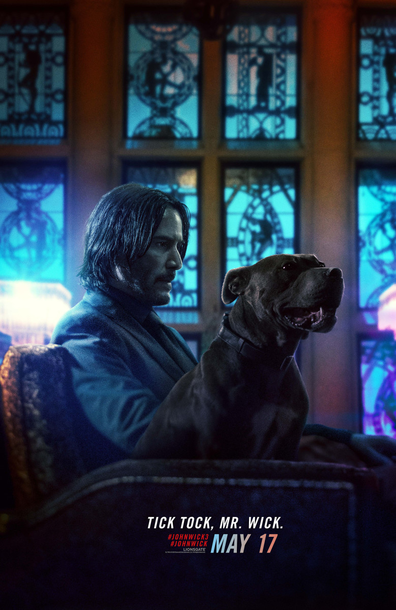 "One of many theatrical posters for, ""John Wick: Chapter 3 - Parabellum."""