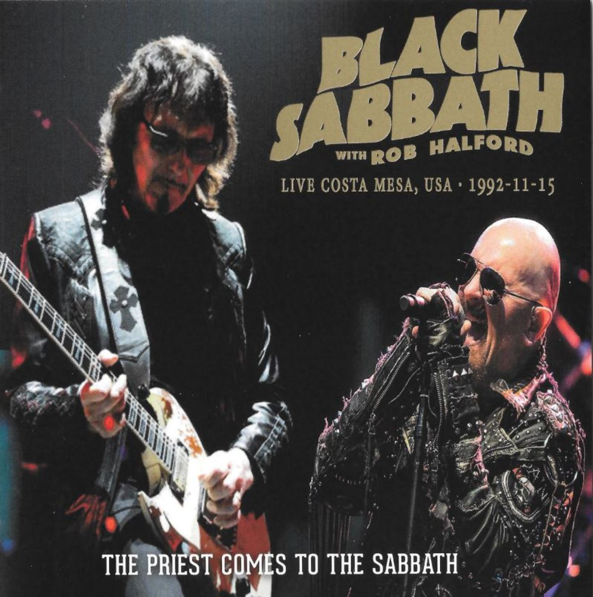 """The Priest Comes to the Sabbath"" bootleg CD cover"