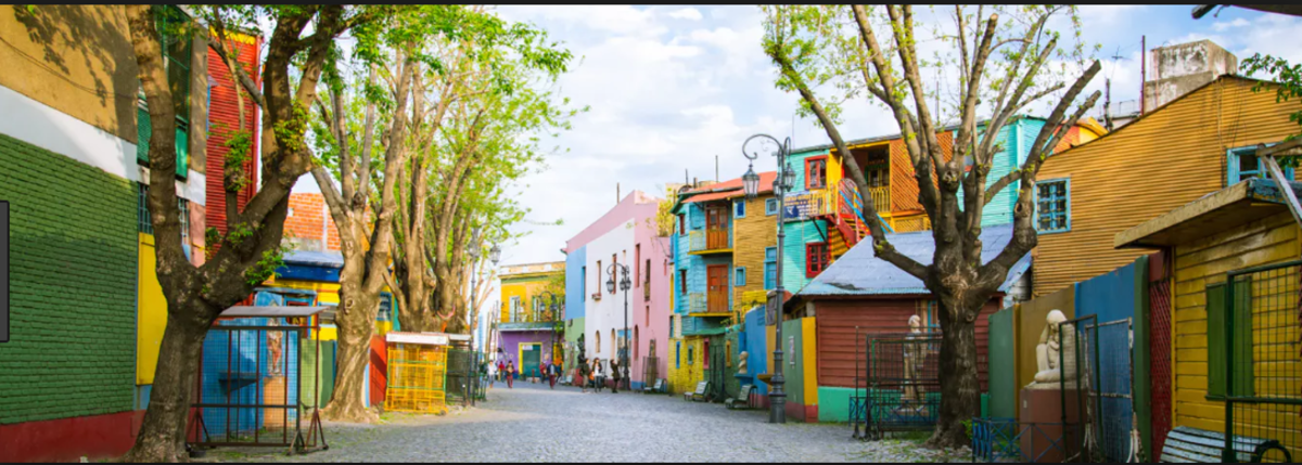 Beautiful, Colorful, Vibrant Buenos Aires