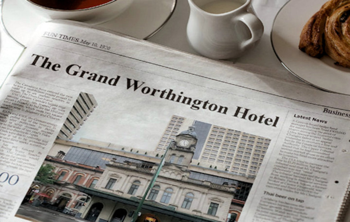 The Grand Worthington Hotel 13