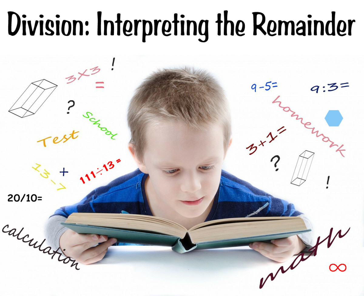 Interpreting the Remainder: 40 Example Division Word Problems for Student Practice