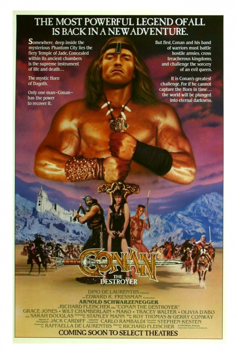 Should I Watch..? 'Conan the Destroyer'