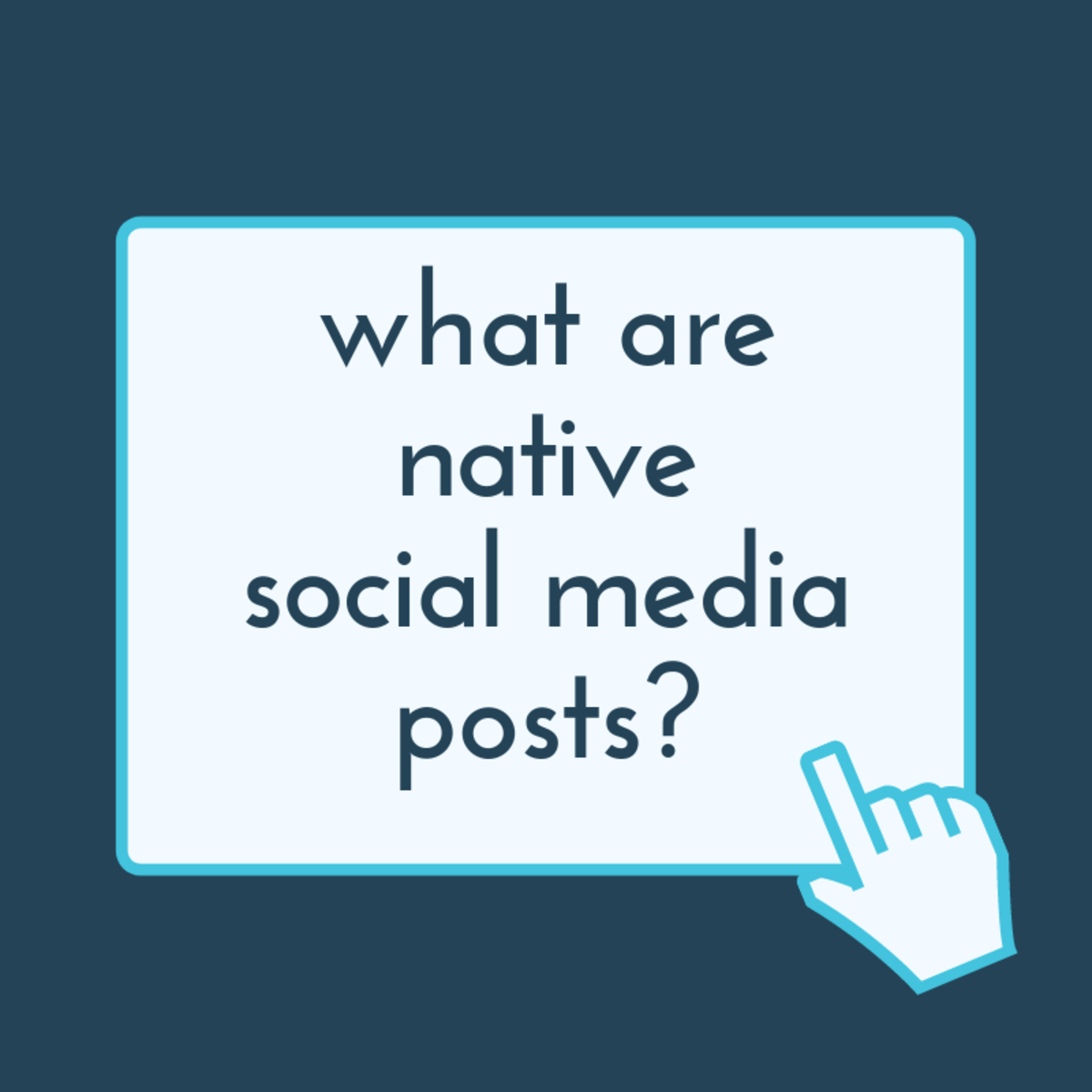 What Are Native Social Media Posts?