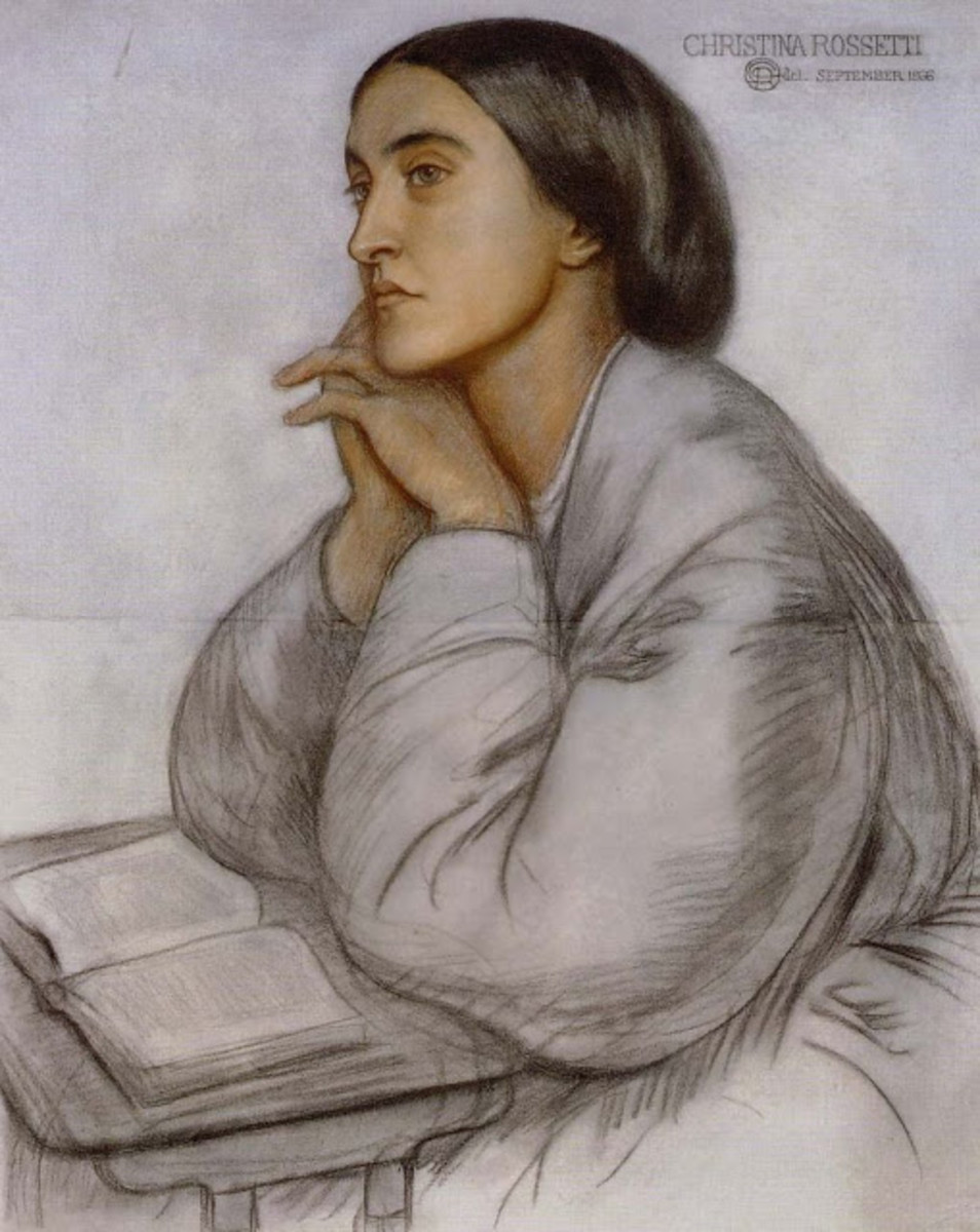The Accomplished Life of English Poetess Christina Rossetti