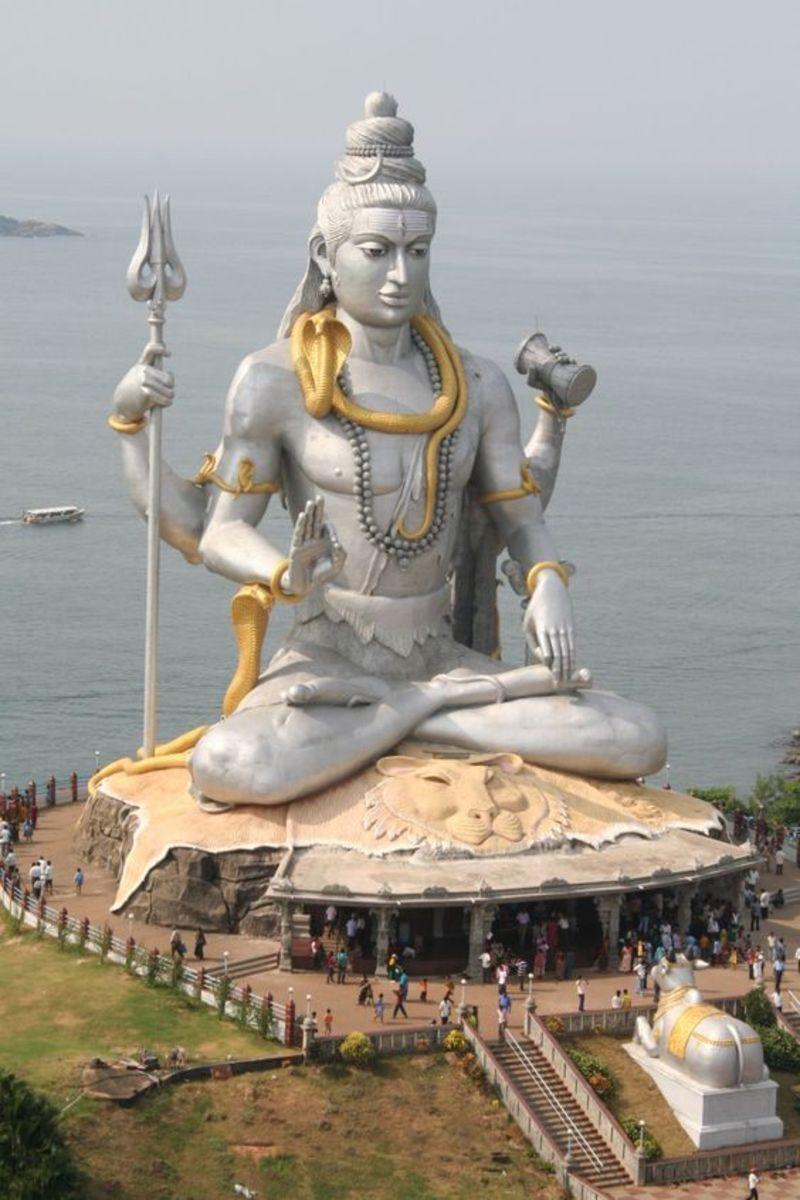Statue of Lord Shiva, Murudeshwar Temple, Karnataka India