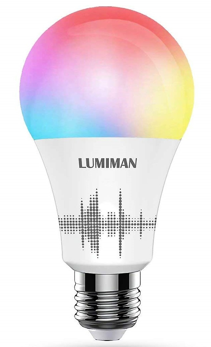 Review of Lumiman Smart Multi-Color Light Bulb (Works With Alexa/Google Home)