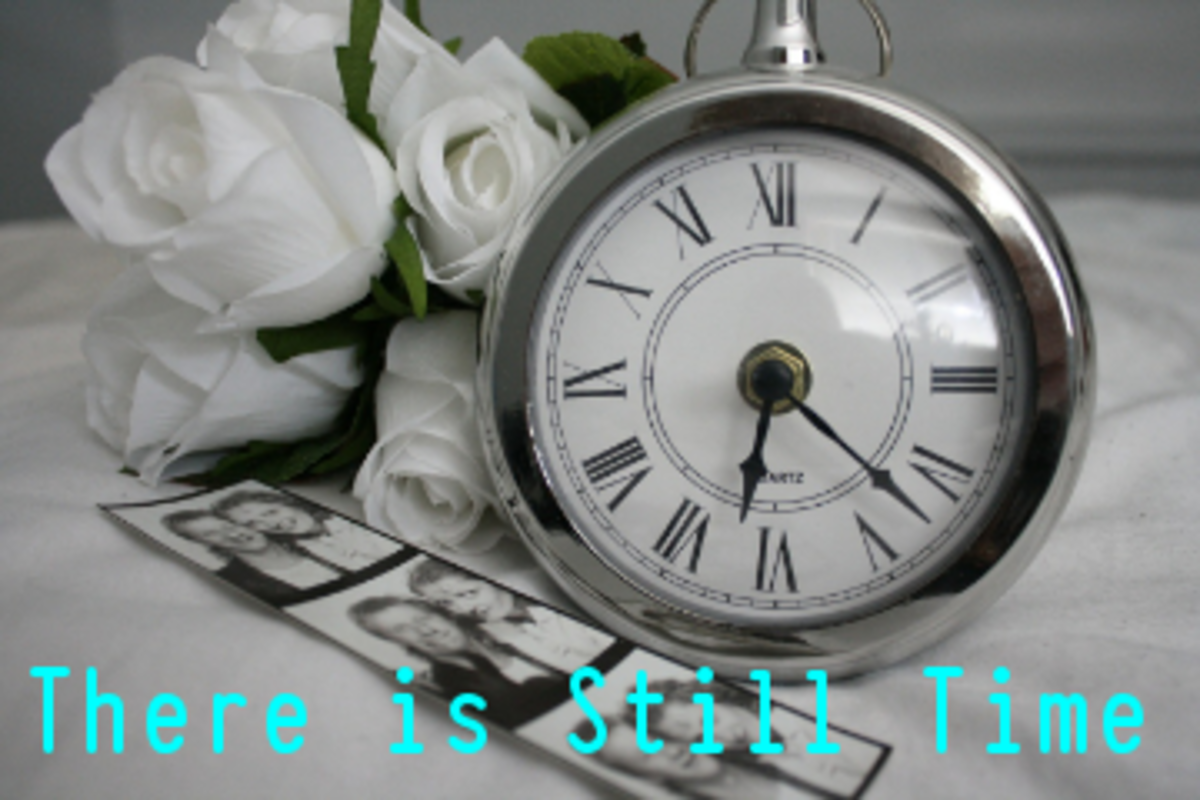 Poem: There Is Still Time