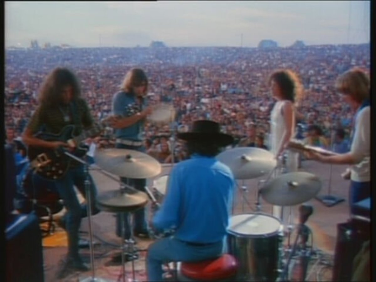 Woodstock Performers: Jefferson Airplane