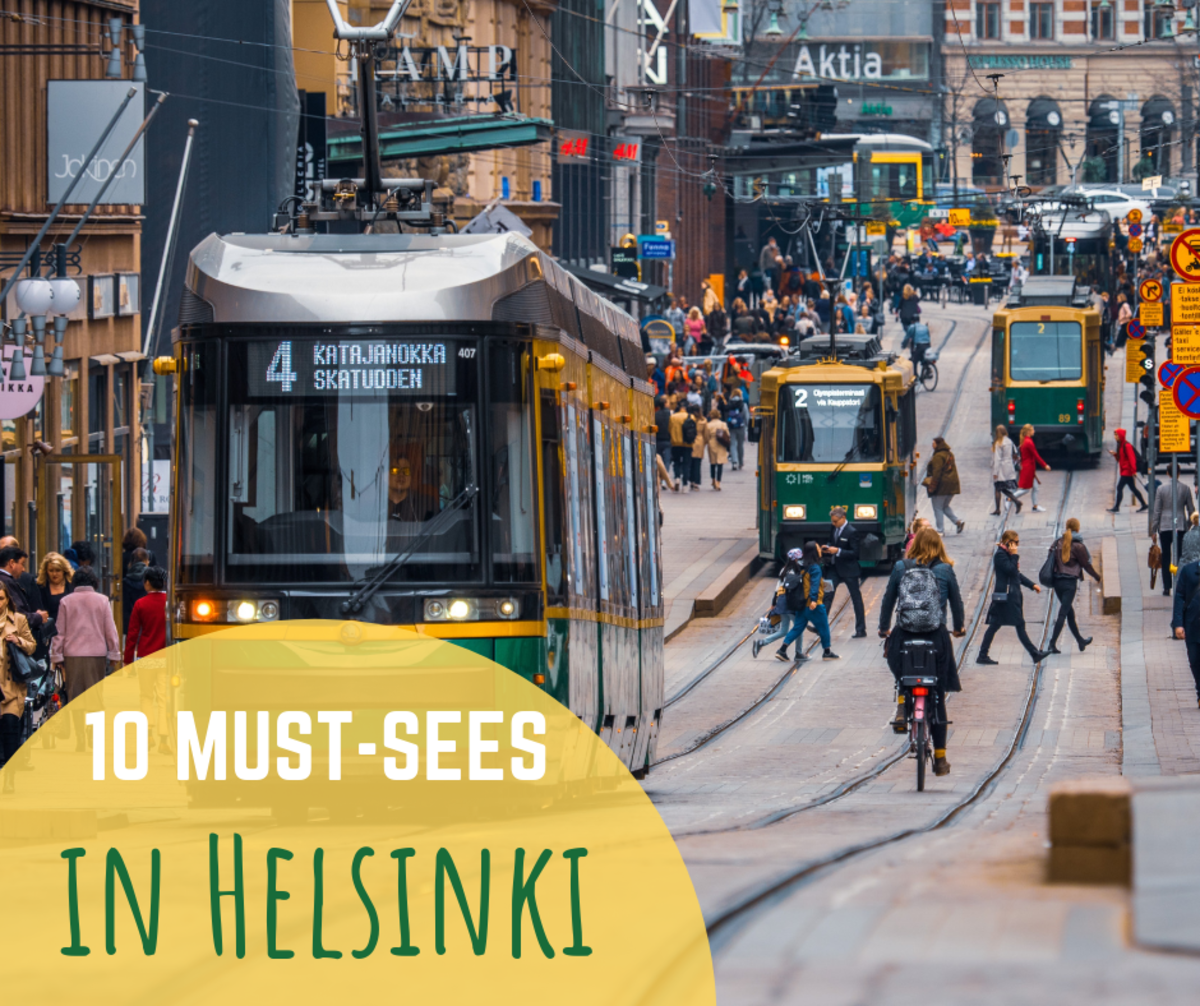 From art and architecture to sea pools and saunas, Helsinki has plenty to offer.