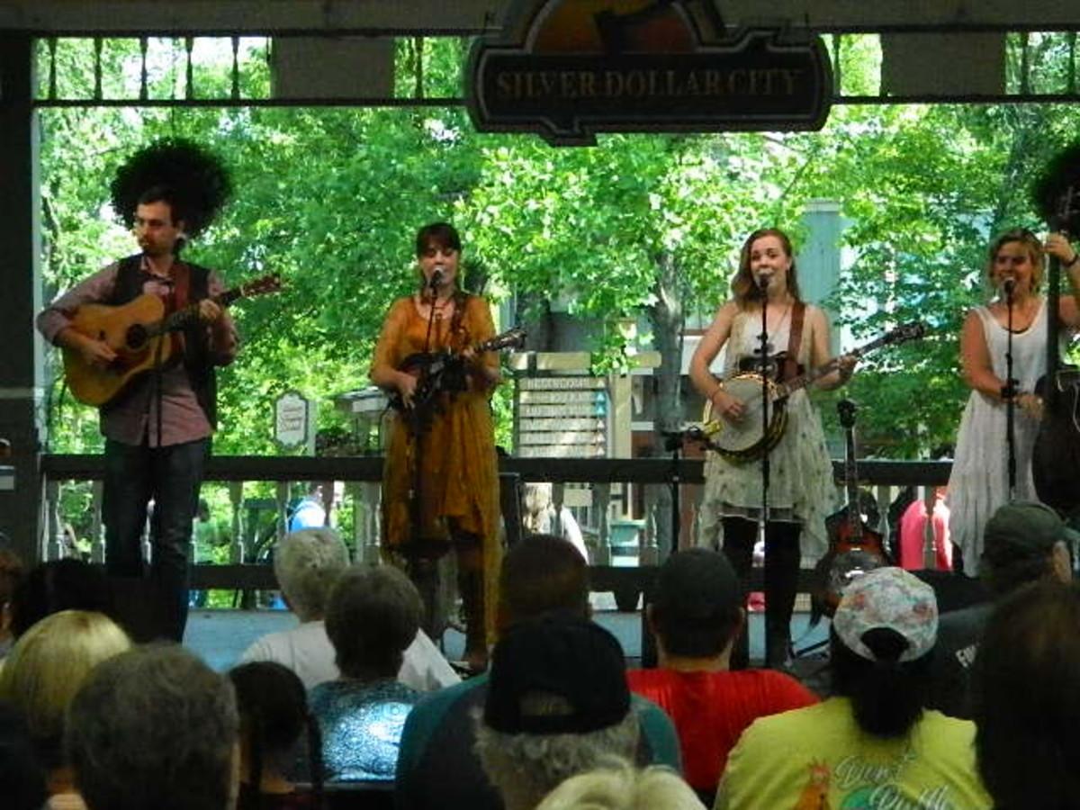 Southern Raised performing at Silver Dollar City