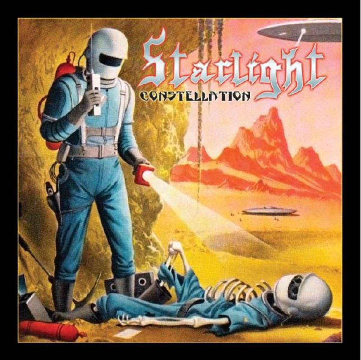 """Starlight, """"Constellation"""" album cover"""